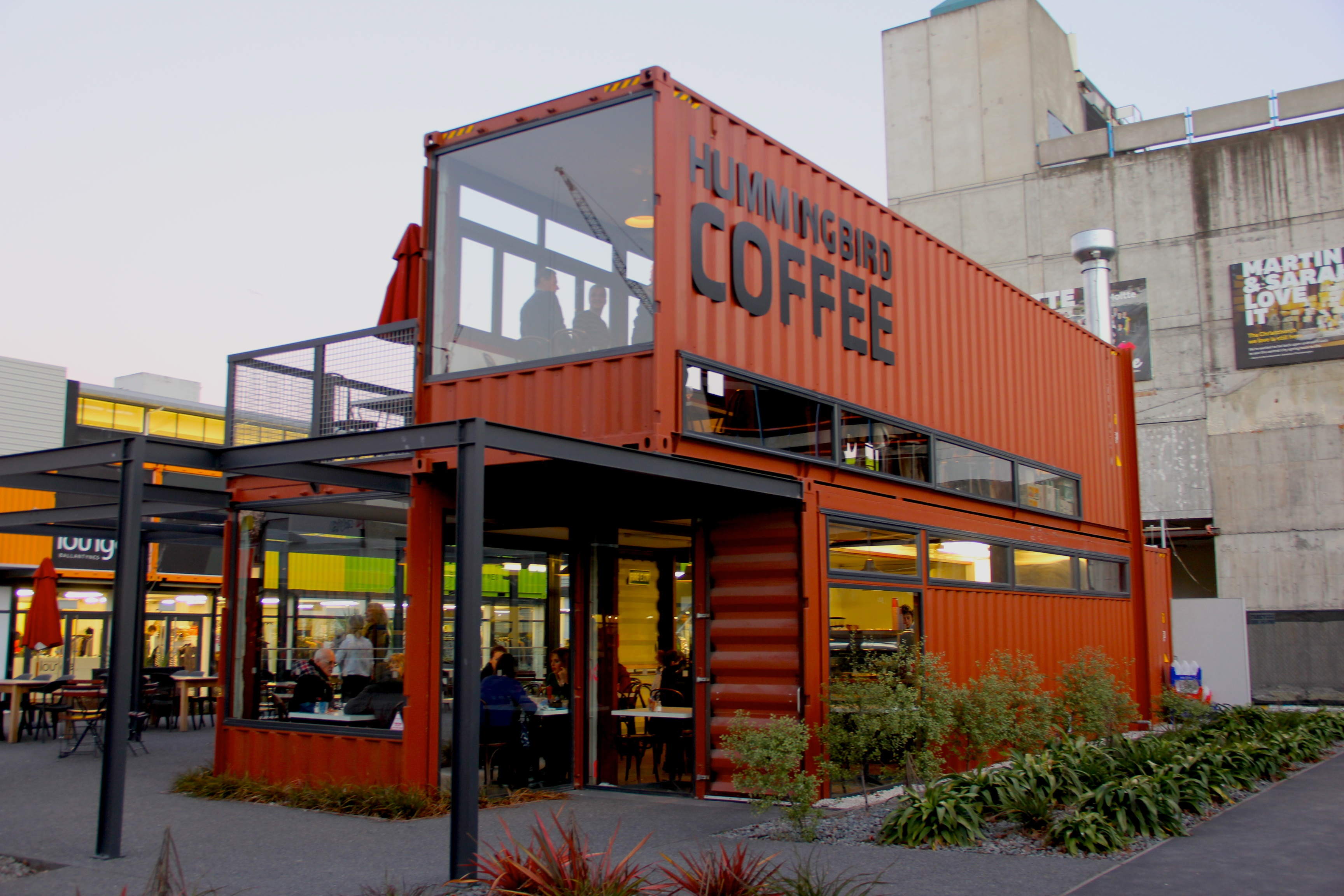 Regal Properties Shipping Containers As Versatile Retail