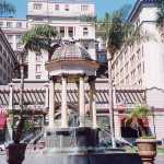 horton plaza fountain